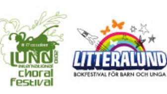 Tre kulturfestivaler i Lund: bibu.se -scenkonstbiennal för barn och unga, Lund International Choral Festival samt LitteraLund