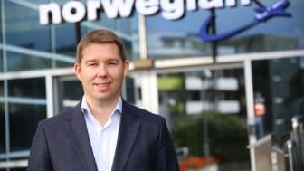 Magnus Thome Maursund blir ny konserndirektør i Norwegian
