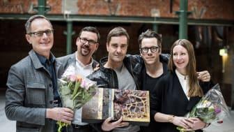 PLÅTPRISET 2015 till LINK Arkitektur för Skandionkliniken och Hotel von Kraemer