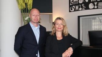 Ola Lundqvist, Senior Advisor, Elfack och Anna Jarnö, tillträdande Business Manager, Elfack