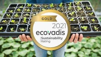 EcoVadis ger Canon guld för hållbarhetsarbete