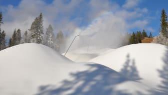 SkiStar AB: Snöfall, snökanoner och snart säsongsöppning i