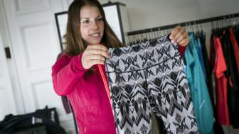 Craft Pure print tights