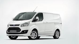 Nya, dynamiska Ford Transit Custom – en transportbil med mer elegans och funktionalitet