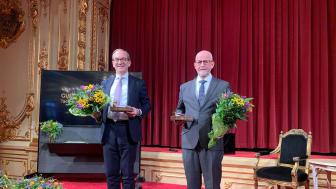 Patrik Tigerschiöld i Bure Equity och Karl-Eric Andersson i Derome