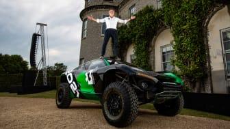 Alejandro Agag, VD för Extreme E och Formel E och SUV:en ODYSSEY 21.