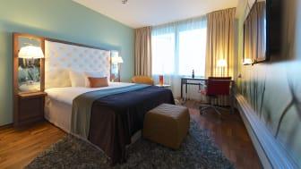 Superior hotellrum på Clarion Hotel Arlanda Airport