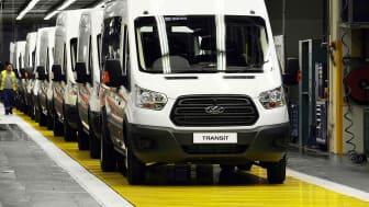 Øker Transit-produksjon etter vekst i etterspørselen