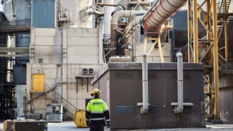 Cementas fabrik i Slite