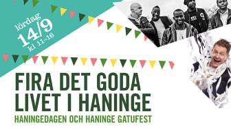 Välkommen till Haningedagen och Haninge gatufest!