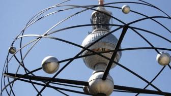 Berliner Weltzeituhr und Fernsehturm