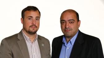 Magnus Olsson (SD) och Nima Gholam Ali Pour (SD)