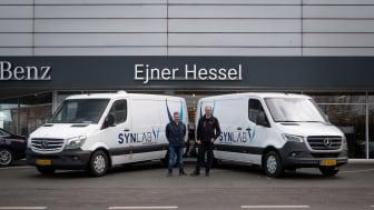 Fra Nordjylland til Sverige og retur – hver dag: Varebil tilbagelægger en million kilometer på fire år