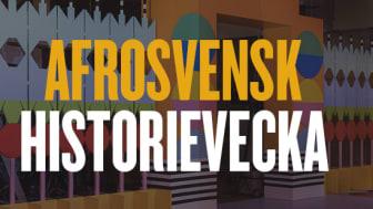 Programsläpp för Afrosvensk historievecka