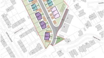 New affordable homes on a brownfield site in the heart of Whitefield