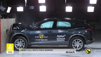 Cupra Formentor - passive and active safety testing video - March 2021