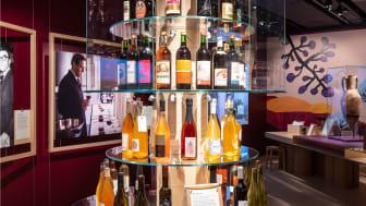 Upptäck svenska viner tillsammans med nostalgiska tillbakablickar i flasktornet.