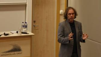 Pär Holmgren höll tal under hållbarhetsdagen.