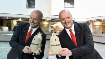 Ralf Fleischer, Vorstandsvorsitzender der Stadtsparkasse München freut sich über die Verdoppelungsaktion auf gut-fuer-muenchen.de.