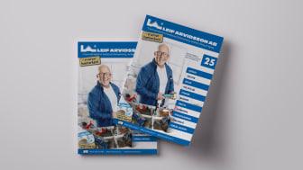 Klassiska Leif Arvidsson-katalogen fyller 25