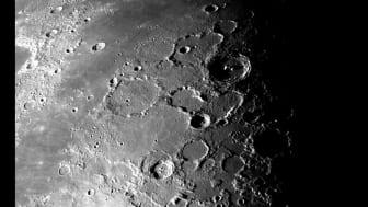 Månen. Foto: NASA