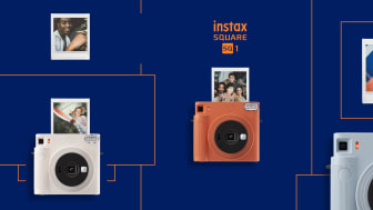 Fujifilm introducerer nyt instax SQUARE SQ1 instant kamera