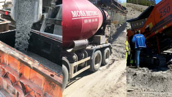 Mapei AS og Mona Betong AS har inngått en avtale om praktisk FoU-samarbeid for betong- og slamgjenvinning