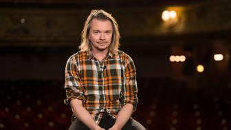 Emil Jensen, artist och författare. Foto: Emil Nylander