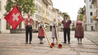 Beim Jodlerfest in Winterthur (c) Diana Weibel