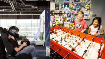 Scandic Talk och Scandic Victoria Tower öppnar upp aktivitetslounger för hela familjen