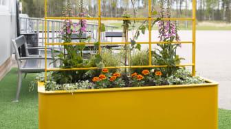 Chilla planteringskärl med spaljé