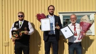 Vinnarna i Bussförar-SM 2018 (Foto: Thomas Dietl, Trafikforum)