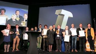 Kommunal- og moderniseringsminister Monica Mæland overrakte onsdag en pris for teknologiutvikling til Sykehuset i Vestfold HF, Tønsbergprosjektet. LINK arkitektur og Multiconsult er sentrale aktører i sykehusprosjektet.