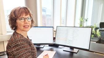 Anna-Karin Karlsson leder etableringen av nya gruppen Elteknik & Projektledning i Västerås. Foto: Norconsult