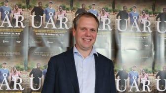 Einar Kiserud på lansering av Uår i Spydeberg 22. august 2019. Foto Marte Guttulsrød