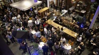 Under Match Up arrangeras över 200 möten mellan startupbolag, investerare och stora företag. Fotograf: Malin Grönborg