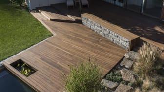 Private Terrasse bei Graz, Foto: Mareiner Holz
