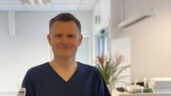 Jens Gaarder Skaug, veterinær og klinikkleder ved Evidensia Raufoss Dyreklinikk