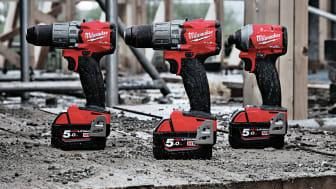 Nya FUEL™-verktygen från Milwaukee®  - mindre och starkare än någosin!