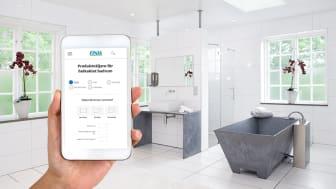 Finja Betong lanserar digital produktväljare och mängdberäknare för badrumsrenovering