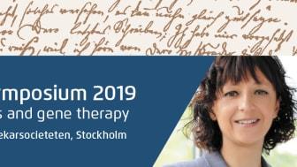 Professor Emmanuelle Charpentier är mottagare av Scheelpriset 2019 som delas ut av Apotekarsocieteten.