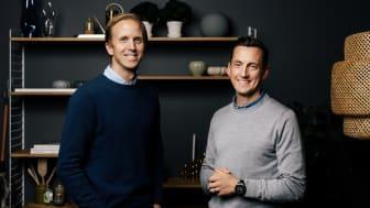 Peter Rimbäck, vd, Cervera och Henrik Örnstedt, verksamhetschef B2B, Cervera Företag. Foto: David Thunander