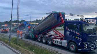Peab Asfalt belägger Stockholms vägar under 2020