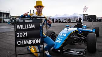William Karlsson tar JSM-titeln i Formula Nordic 2021