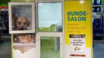 Der Fellini-Salon in Neumünster ist bereit für tierische Kundschaft. Quelle: Fressnapf Holding SE