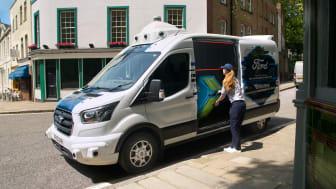 Ford starter forsøk med «førerløse» varebiler i Storbritannia