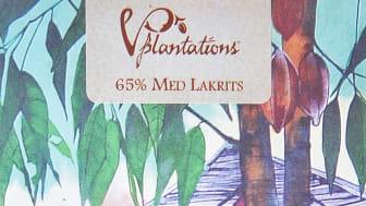 Vintage Plantations 65% Lakrits från Lakritsfabriken i Ramlösa