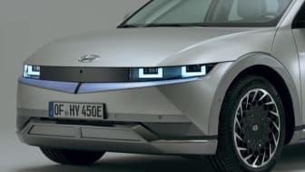 Hyundai IONI5 - video footage