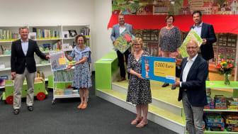 5.000 Euro für neuen Lesestoff: Die Bibliothek von Markt Höchberg erhielt den Kinderbibliothekspreis 2020.