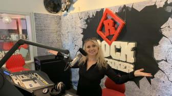 Nanne Grönvall på plats i Rockklassikers studio. Foto: Bauer Media